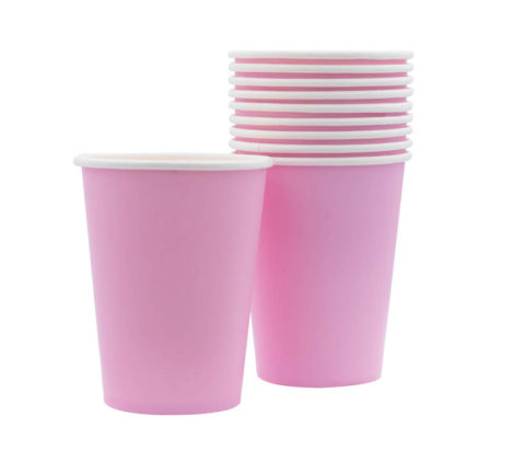light pink cup