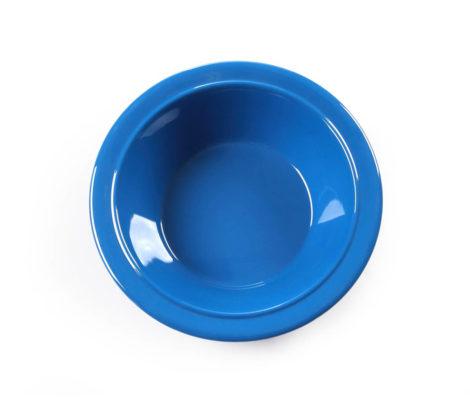 Blue melamine bowl-2