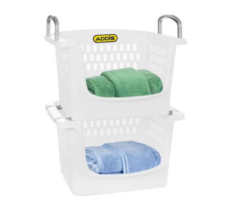 Addis stackable baskets