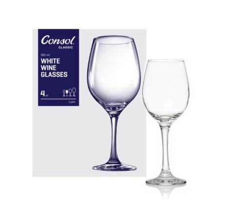 LYON WHITE glass