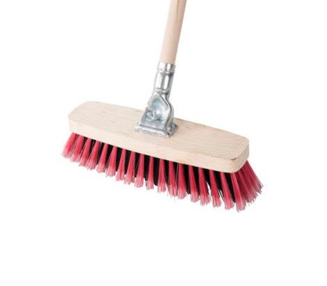 Promo Broom Wood Grip