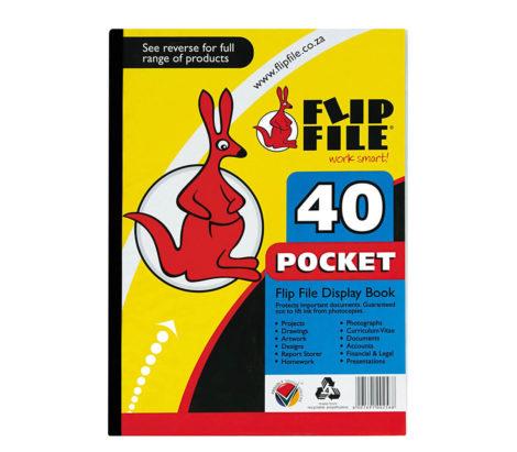 40 flip files