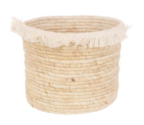 fringed big basket L